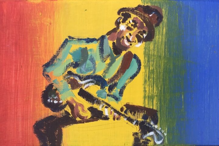 Hound Dog Taylor painting 2