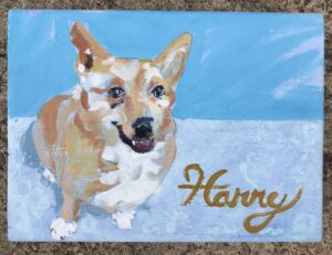 now accepting orders for original paintings of homes and pets